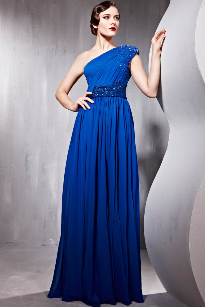 VogueQueen evening dress